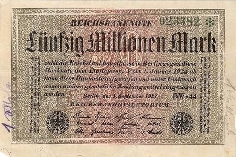German Papiermark