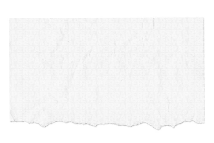 Plain Blank White Paper