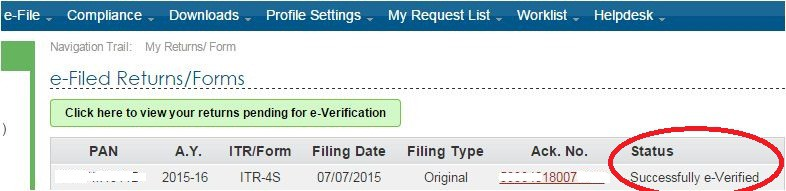 EVC-verified-ITR-verified