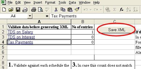 ITR XML File