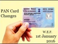 PAN Card Changes