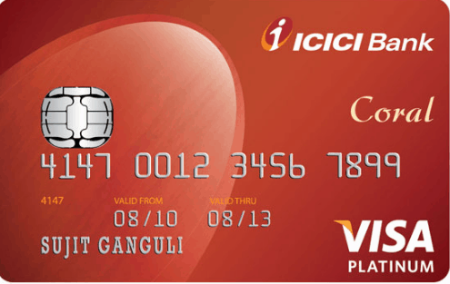 ICICI Bank Coral Credit Card