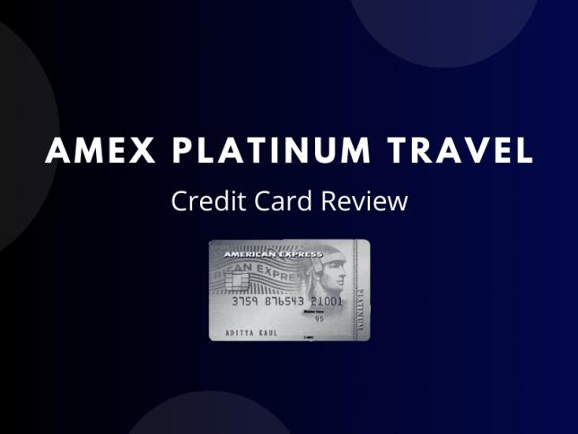 Amex Platinum Travel Credit Card Review