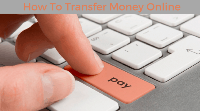 Transfer money online