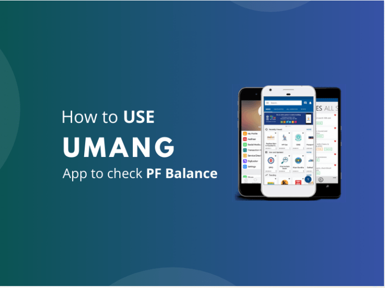 PF Mobile App – Know your PF Balance and Status Online in India