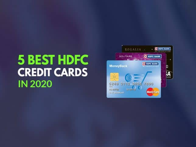 Top 5 best HDFC Bank Credit Card Reviews 2020