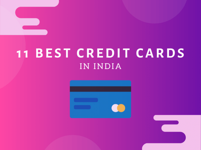 11 Best Credit Card in India 2020 Review and Comparison