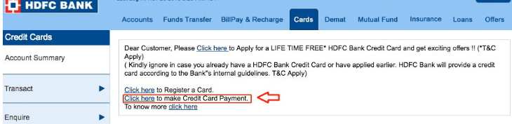 7 Easy Ways of HDFC Credit Card Online Payment