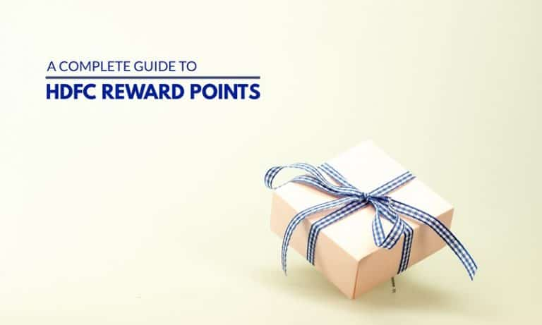 HDFC Credit Card Reward Points - A Complete Guide 2020