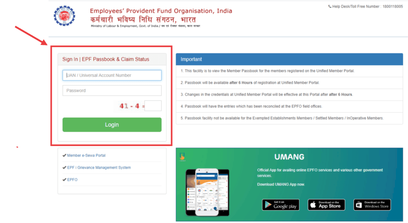 How to Check EPF Balanace - A step by step guide