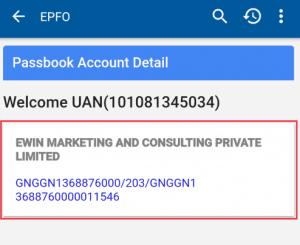 Check epf balance online