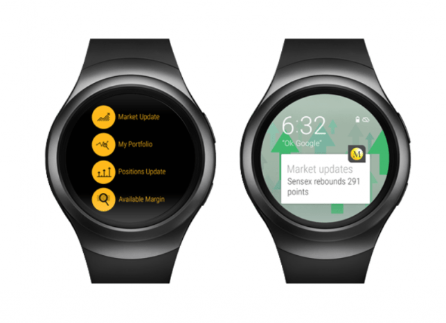 Motilal Oswal Smartwatch