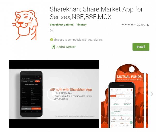 sharekhan app