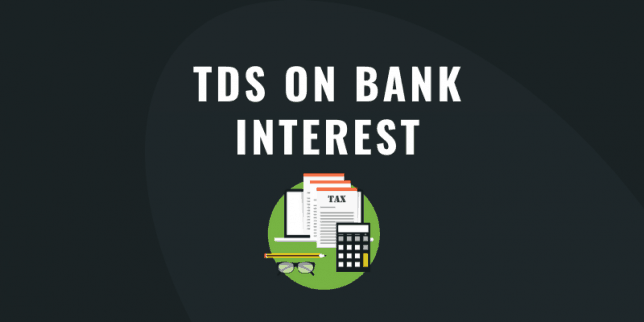 TDS on Bank Interest