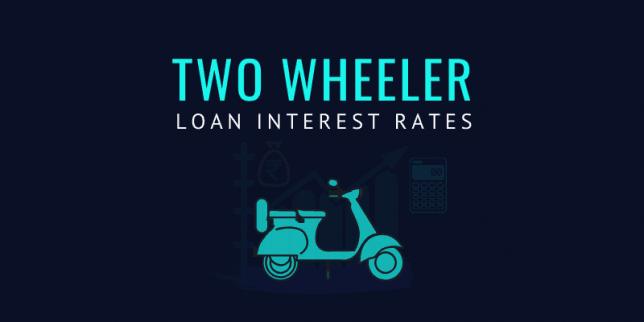 Two wheeler loan interest rate