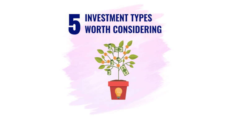 5 investments that you want to consider