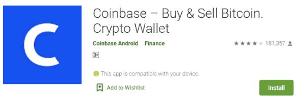 Coinbase App- Google