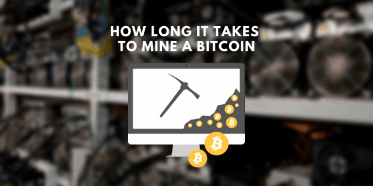 HOW LONG IT TAKES TO MINE A BITCOIN