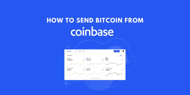 Send bitcoin from coinbase
