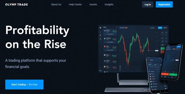 Olymp Trade Forex trader