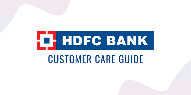 HDFC Credit Card Customer Care Guide