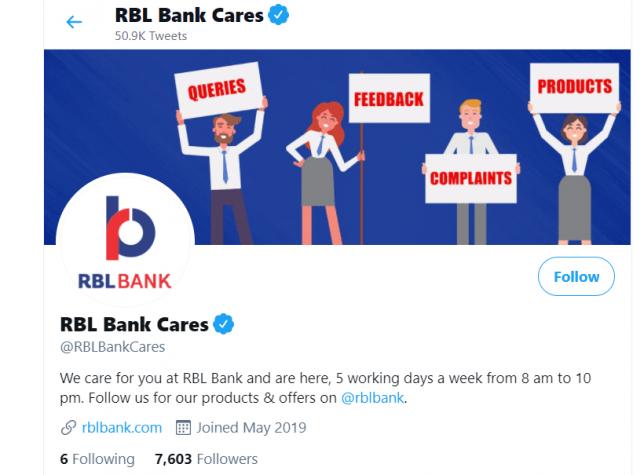RBL Bank Cares