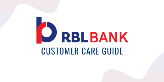 RBL Credit Card Customer Care Guide
