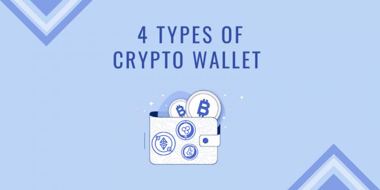 4 crypto wallet types
