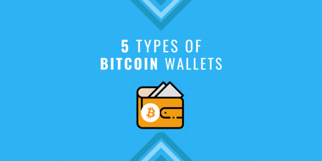 5 types of bitcoin wallets
