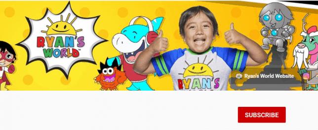 Kids youtube channel